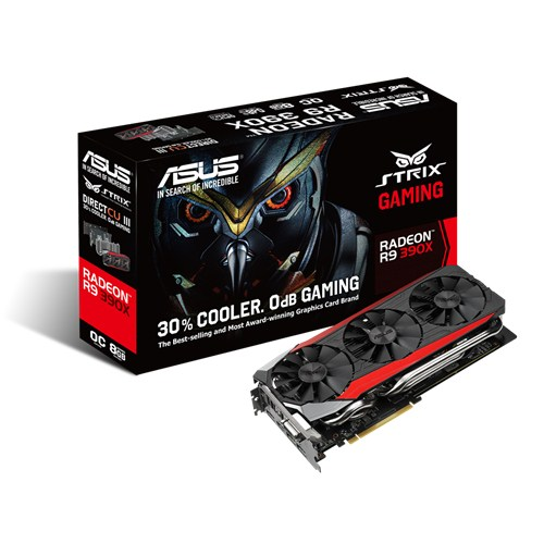 Scheda video Asus Strix R9 390X