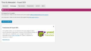 titoli-e-metadati-Homepage-YOAST