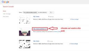 google-search-console-scelta-sito